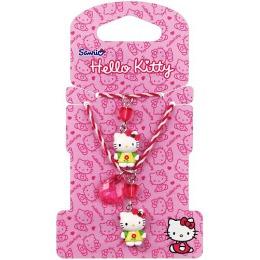 Hello Kitty набор бижутерии, 2 предмета, украшение с подвеской, 1 шт, браслет, 1 шт