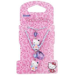 Hello Kitty набор бижутерии 2 предмета: украшение с подвеской 1 шт, браслет 1 шт