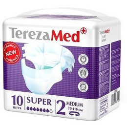 """Tereza подгузники для взрослых """"Super Medium №2"""""""