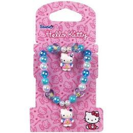 Hello Kitty набор бижутерии 2 предмета: бусы 1 шт, браслет 1 шт