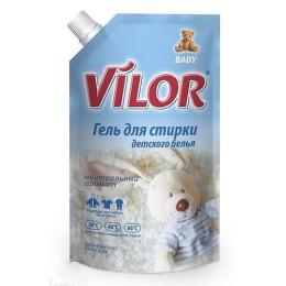 Vilor средство для стирки детского белья жидкое