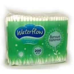 Waterflow ватные палочки в полиэтиленовой упаковке