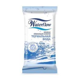 """Waterflow влажные освежающие салфетки универсальные """"Термальная вода"""""""