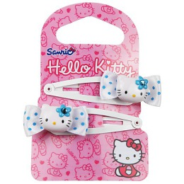 "Hello Kitty заколка-клипса ""Бантики"", 2 шт"