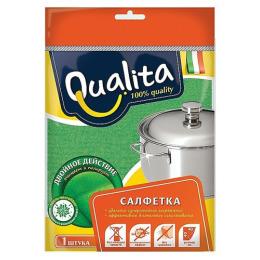 Qualita салфетка из микрофибры Двойное действие