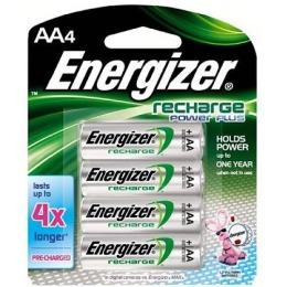 "Energizer аккумулятор ""Power Plus"" 2000 mAh, 4 шт"