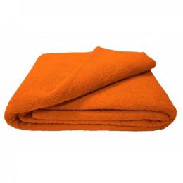 Ituma простынь махровая 180 х 210 оранжевый 003