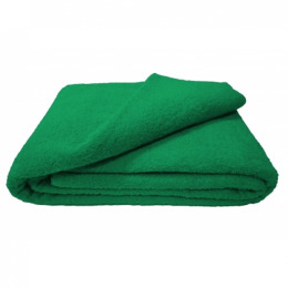 Ituma простынь махровая 180 х 210 ярко-зеленый 020
