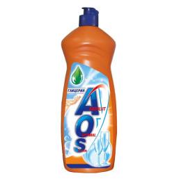 """Aos средство для мытья посуды """"С глицерином"""" с дозатором"""