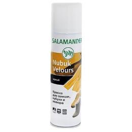 """Salamander аэрозоль """"Nubuk Velours"""" черный"""
