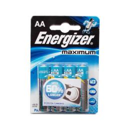 "Energizer батарейка алкалиновая ""Maximum"" тип АА"