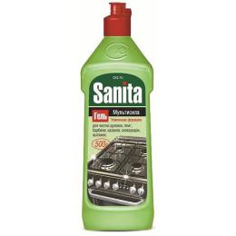 """Sanita гель чистящий """"Мультисила"""" для кухонных плит усиленная формула"""