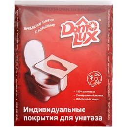 """Aster покрытие для унитаза """"Domoiux"""", цвет белый, 7 шт"""