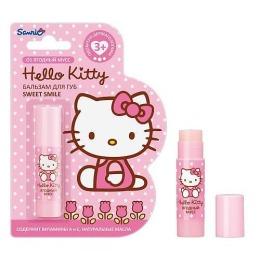 """Hello Kitty Бальзам для губ """"Sweet Smile"""", 3,5 г"""