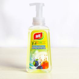 """Help средство для мытья посуды пена - концентрат """"Олива"""" с дозатором"""