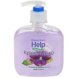 """Help крем-мыло """"Антибактериальное"""" с дозатором"""