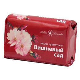 """Невская Косметика мыло туалетное """"Вишневый сад"""""""