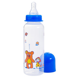 Курносики бутылочка полипропиленовая с силиконовой соской