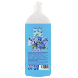 """Help жидкое мыло """"Голубой лен"""""""