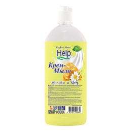 """Help жидкое мыло """"Молоко и мед"""""""