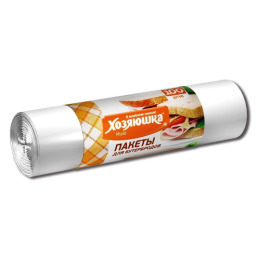 Хозяюшка Мила пакеты для бутербродов 17 х 28 см, 100 шт