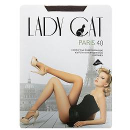 """Lady Cat колготки женские """"Paris 40"""" кофе"""