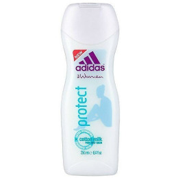 """Adidas молочко для душа """"Protect"""" увлажняющее с экстрактом хлопка"""