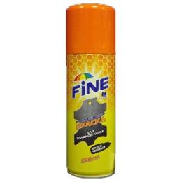 Fine краска-аэрозоль для изделий из гладкой кожи, черная