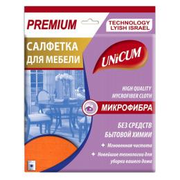 Unicum салфетка для мебели микрофибра 40 х 40 см