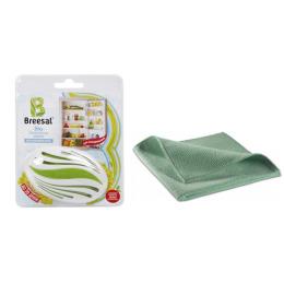 Breesal био-поглотитель запаха для холодильника 80 г + Салфетка из микрофибры