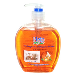 """Help жидкое мыло """"Нейтрализующие запахи"""" с дозатором"""
