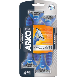 "Arko men станок для бритья ""System3"" 3 лезвия"