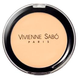 "Vivienne Sabo увлажняющая пудра ""Poudre Compacte Hydratante. Joli Moyen"" без зеркала"