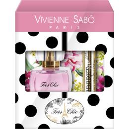 "Vivienne Sabo набор тушь ""Cabaret Рremiere"" черная, 9 мл + туалетная вода ""Tres chic"" 50 мл"