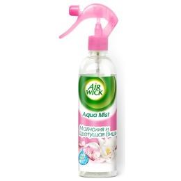 "Air Wick ароматизатор ""Aqua Mist "" Магнолия и цветущая вишня, 345 мл"