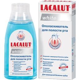 """Lacalut ополаскиватель для рта """"Уайт"""", 300 мл"""