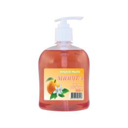 """Минута жидкое мыло """"Цветы апельсина"""" с дозатором"""