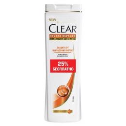 """Clear шампунь """"Защита от выпадения волос"""" против перхоти для женщин"""