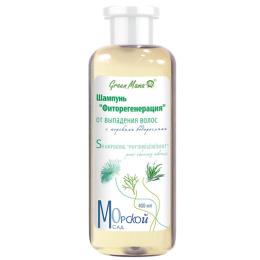 """Green Mama шампунь """"Морской сад. Фитогенерация"""" от выпадения волос"""