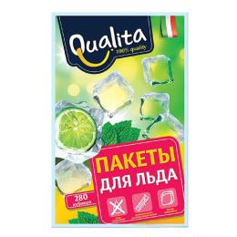 Qualita пакетики для льда 280 кубиков