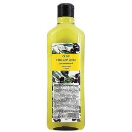 """Природная Аптека гель для душа """"Olive. Увлажняющий. Масло зеленой оливы и лимон"""""""