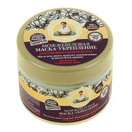 """Рецепты бабушки Агафьи маска для волос """"Укрепление. Можжевеловая"""" против выпадения волос"""
