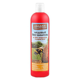 """Organic beauty farm био-шампунь для волос """"Медовый"""" на 100 % натуральном пчелином воске"""
