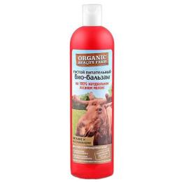 """Organic beauty farm био-бальзам для волос """"Питательный"""" на 100 % натуральном лосином молоке"""