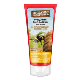 """Organic beauty farm био-маска для волос """"Медовая"""" на 100 % натуральном пчелином воске"""