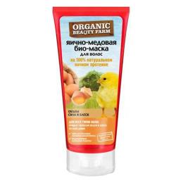 """Organic beauty farm био-маска для волос """"Яично-медовая"""" на 100 % натуральном яичном протеине"""
