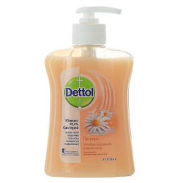 """Dettol жидкое мыло для рук """"Питание. С ромашкой и увлажняющим молочком"""" антибактериальное"""