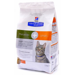 "Hill's корм для кошек ""Prescription Diet. Meta"" коррекция веса урология"