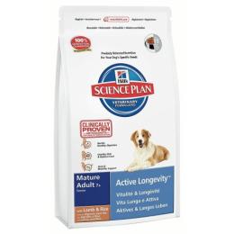 "Hill's корм для пожилых собак ""Science Plan"" 7+ ягненок/рис"
