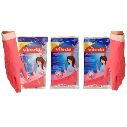 "Vileda перчатки ""Style"", размер L, 1 пара"